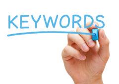 Descubriendo las palabras clave de su sitio web
